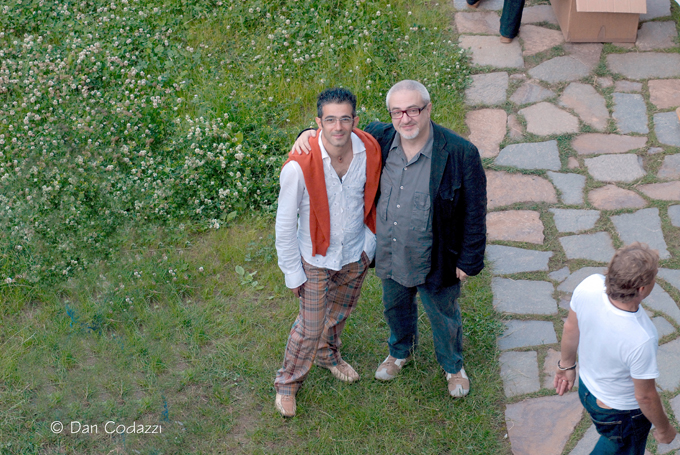 Roberto con Paolo