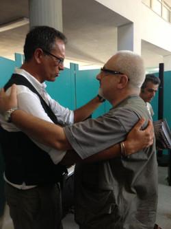 Roberto con Flavio Manzoni