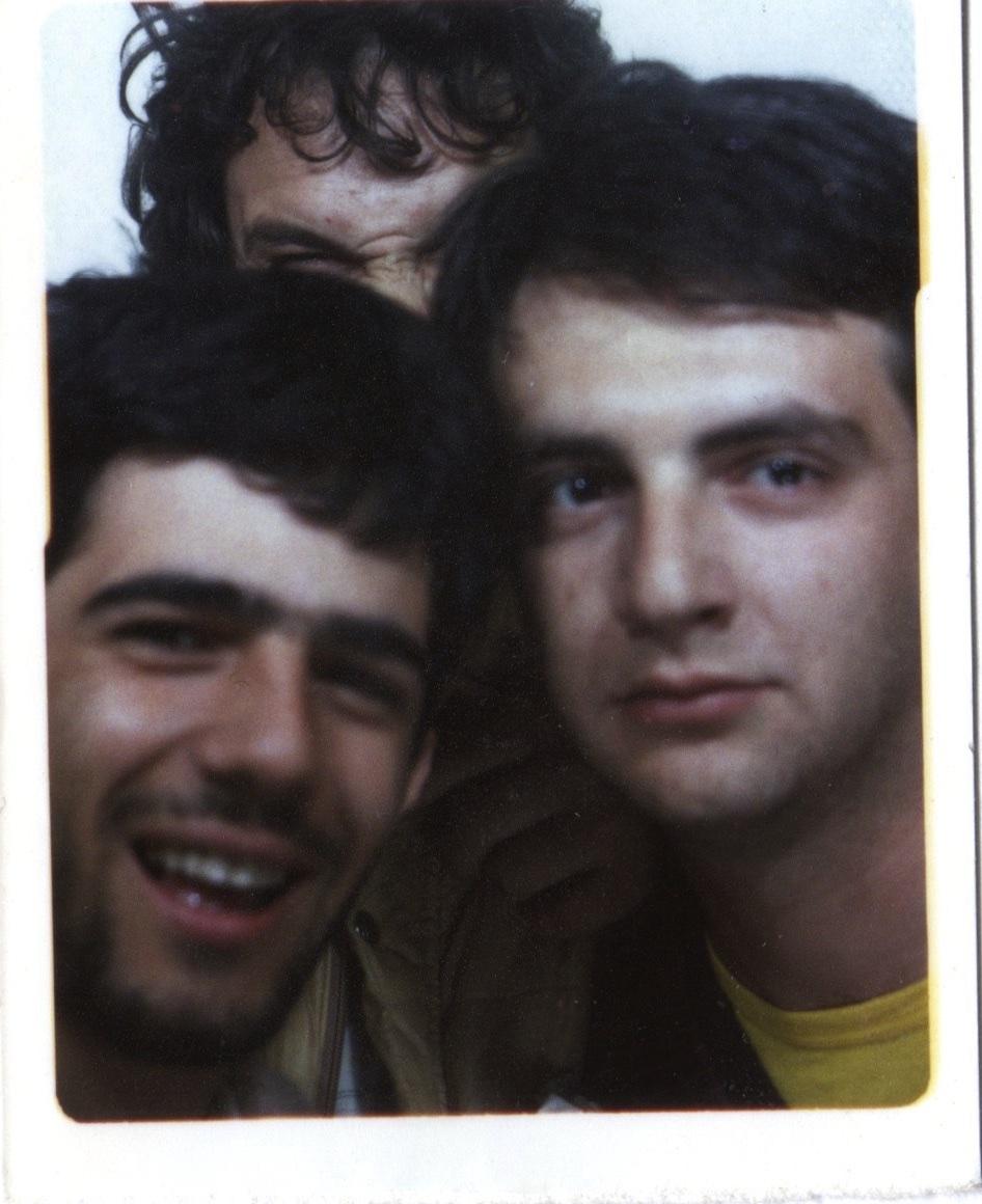 Roberto con Paolo e Billy Sechi