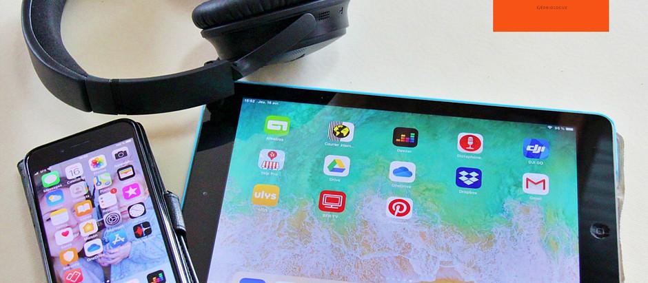 Téléphone portable et tablette