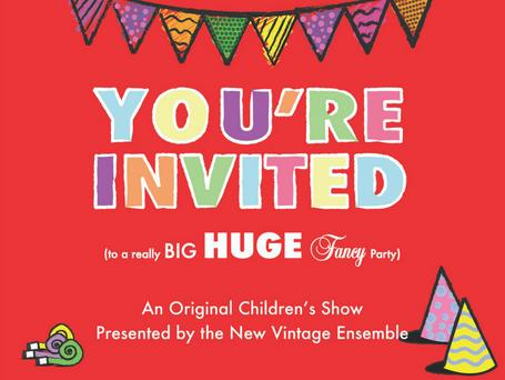 New Vintage Ensemble Announces Free Children's Show During Scranton Fringe Festival