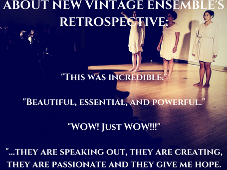 The New Vintage Ensemble 2016: A Year In Review