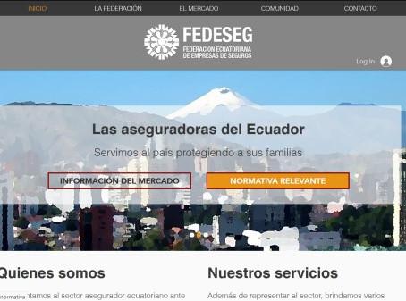 Nuevo sitio web de FEDESEG