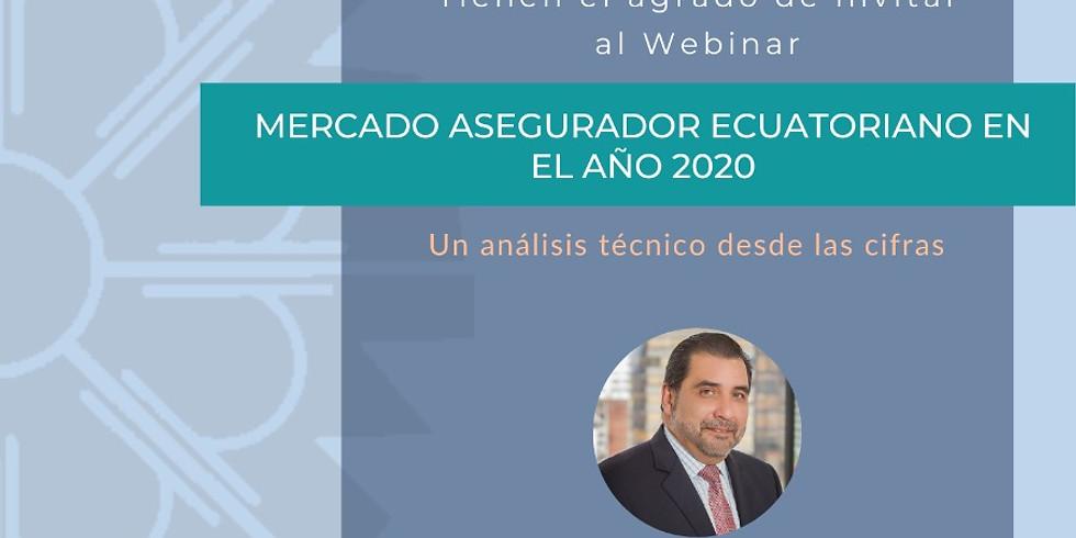 Mercado asegurador ecuatoriano en el año 2020