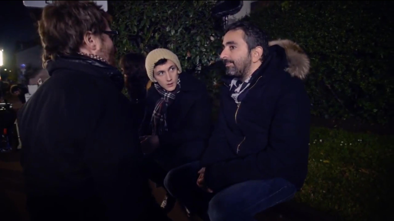 """Sur le tournage de """"Le Bon Vivant"""""""