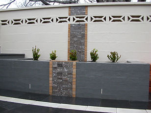 Tiling, amazing tiles, buxus, gardens