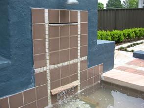 Water feature, fountain, pond, water garden