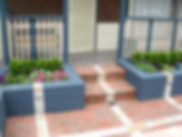 Ballustrade, retaing, masonary, brick, gardens