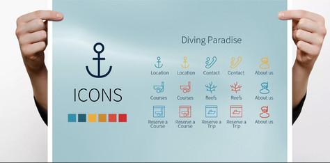 Divers Paradise icons.jpg