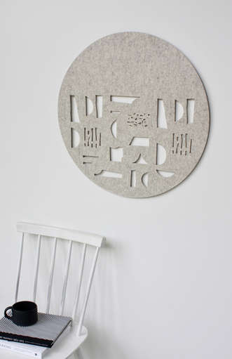 FORM wall hanging (beige)