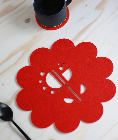 DEWDROP table mat