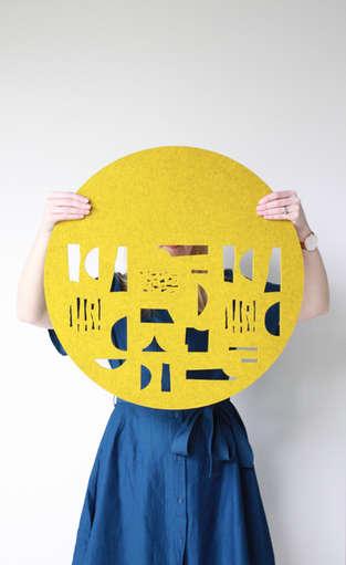 FORM wall hanging (mustard)