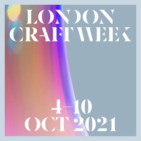 London Craft Week 2021
