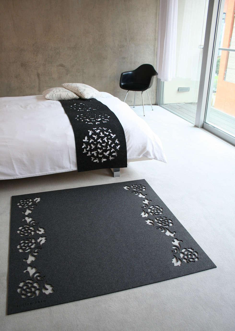 BLOOM rug (Anthracite)