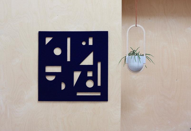 CONFETTI wall hanging