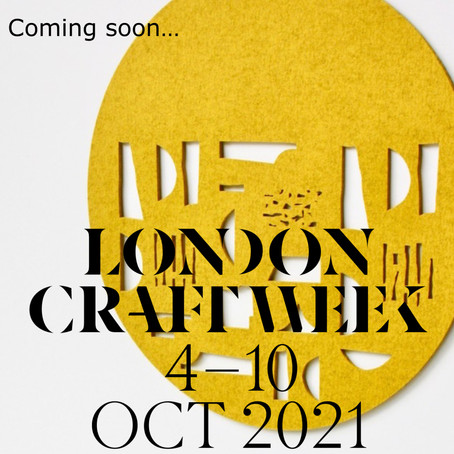 Private View - London Craft Week 2021