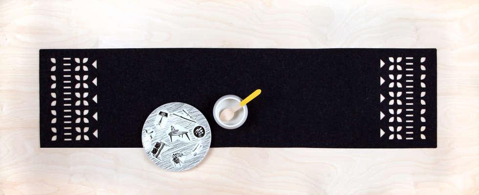 SCANDI table runner (anthracite)