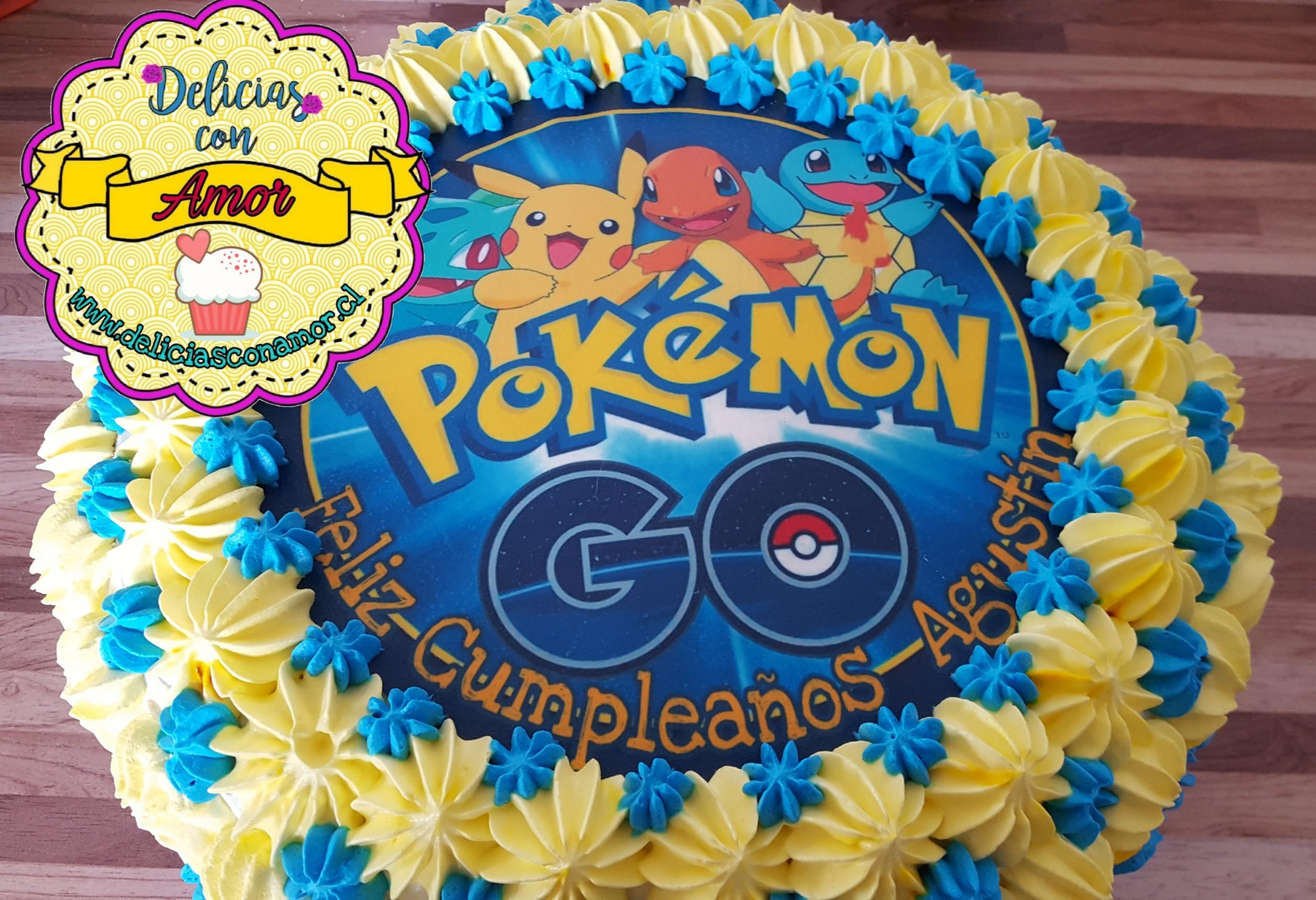 Torta Pokémon Go