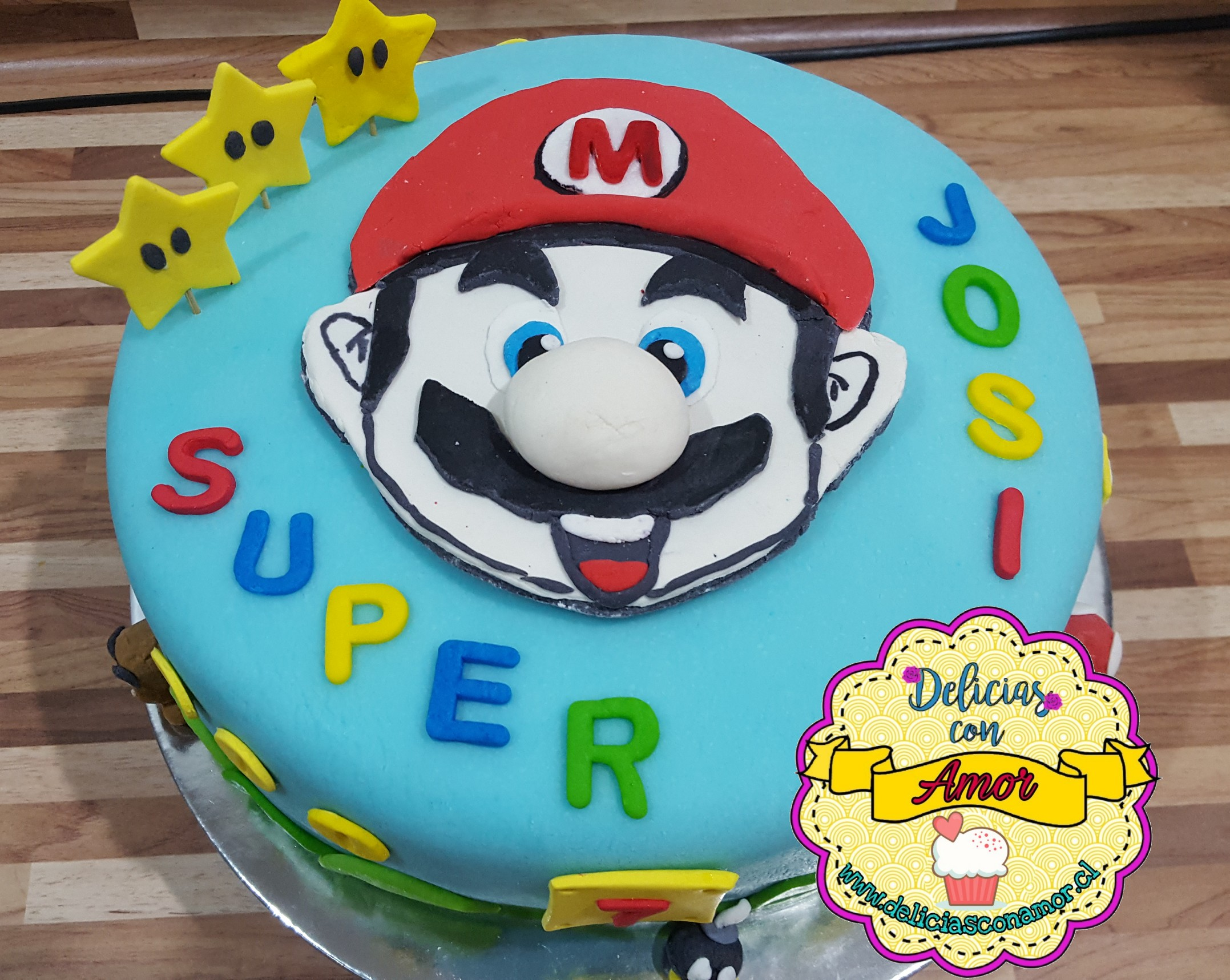 Torta Super Mario Bros