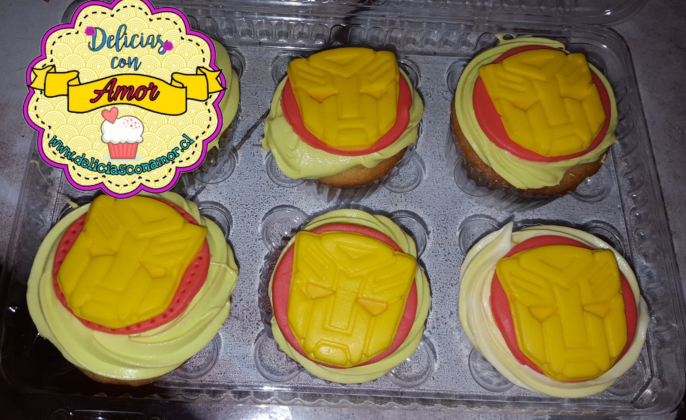 Cupcakes Transformers