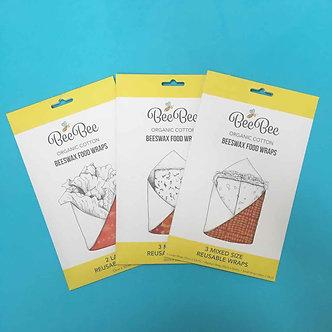 BeeBee wraps - medium pack