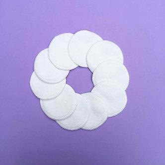 Cotton wipes - set of 10