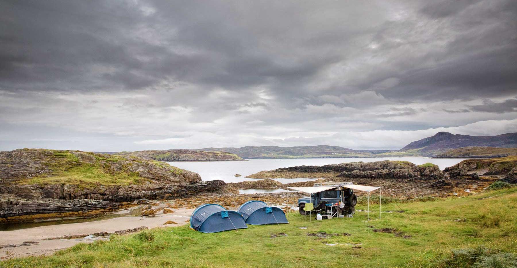 Exploring-Scotland-In-a-Land-Rover-Defen
