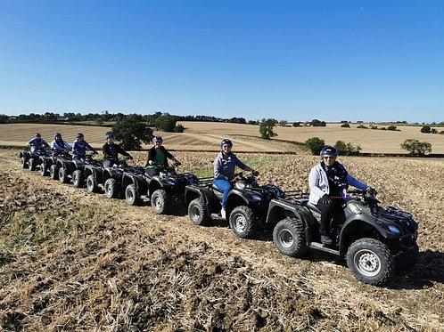 One Hour Quad Bike Tour, Experience The Country, Milton Keynes
