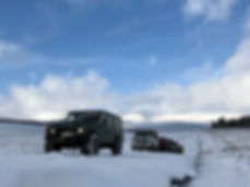 Winter 4x4 tours