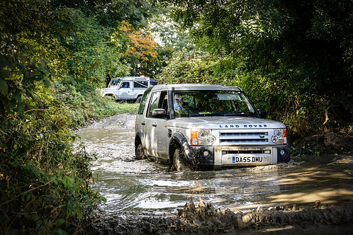 One Hour 4x4 Off Road Driving Session, Experience The Country, Milton Keynes