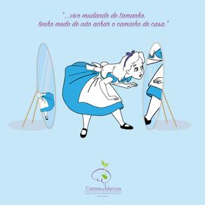 Uma reflexão - Alice no País das Maravilhas e distorção de imagem corporal