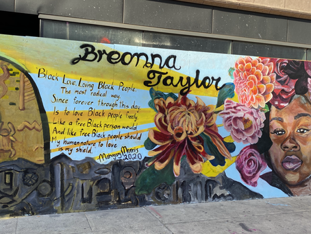 Oakland's Mosaic of Black Lives Matter Murals