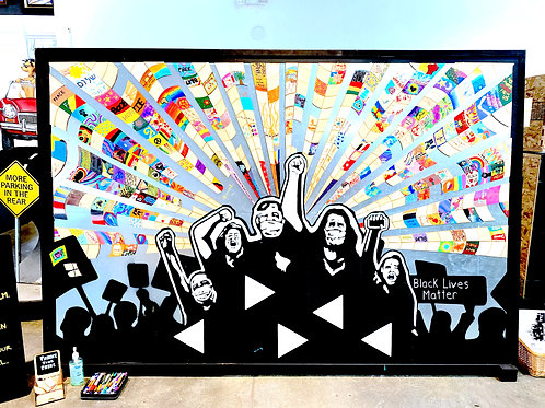 """""""Stand Together"""" Mosaicli Mural"""