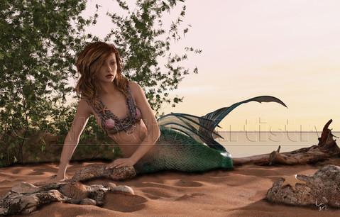 Beach Mermaid