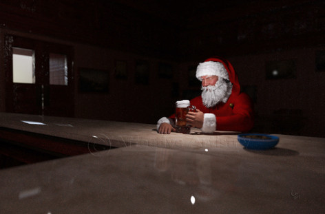 Santa, the end of the night...