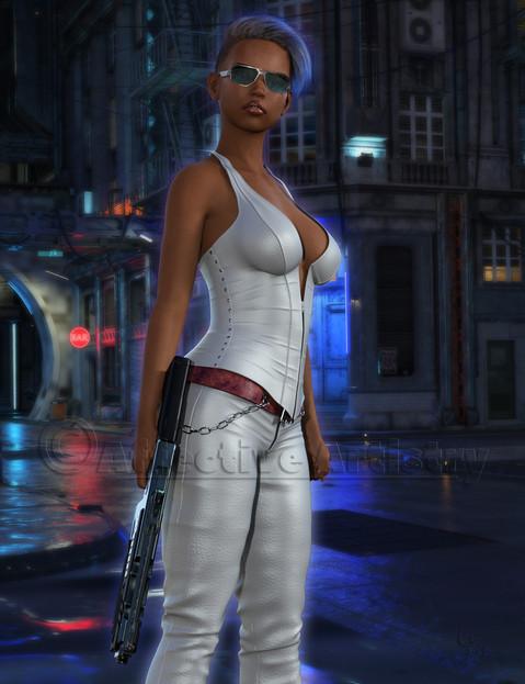 Scifi City Badass