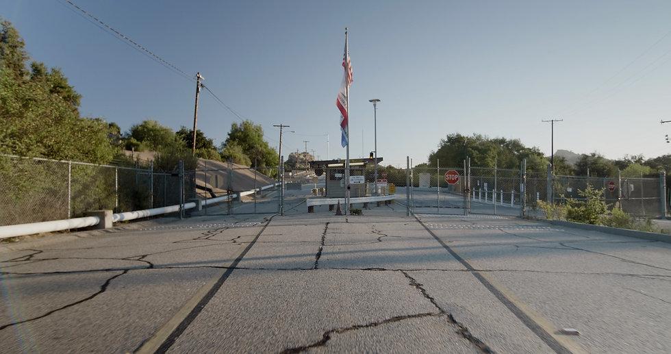 Front Gate of the Santa Susana Field Laboratory