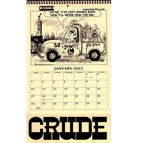 Crude Calendar 2021