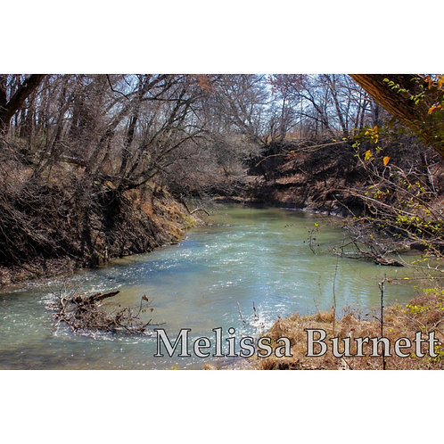 Blue River Photo Print