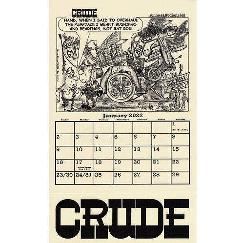 Crude Calendar 2022