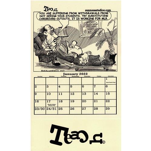 Teach Calendar 2022