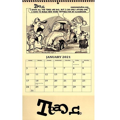 Teach Calendar 2021