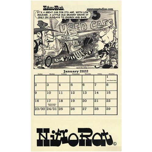 NitroRat Calendar 2022