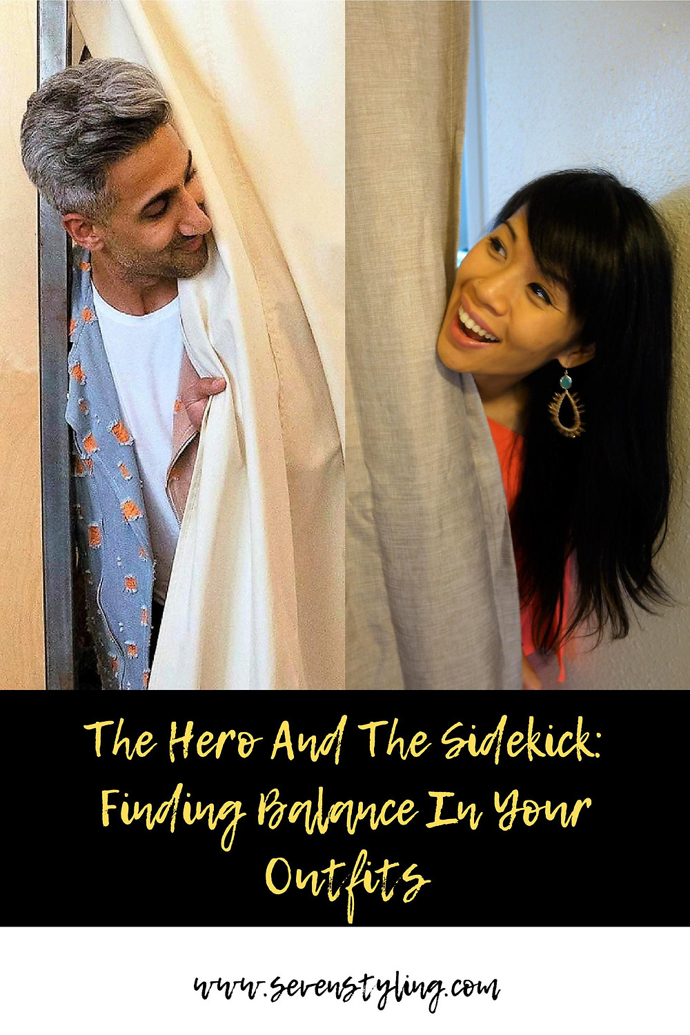 The Hero And The Sidekick: Finding Balance In Your Outfits