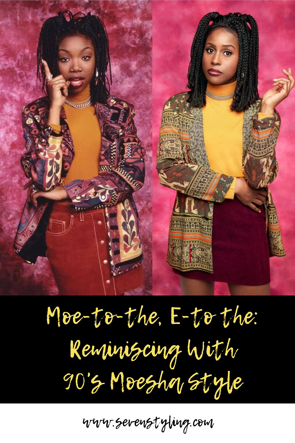 Moe-To-The, E-To-The: Reminiscing With 90's Moesha Style