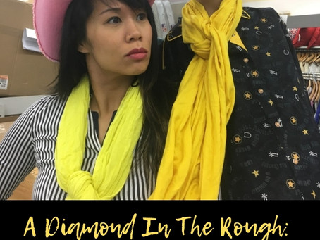 A Diamond In The Rough: Mining The Thrift Store For Treasure