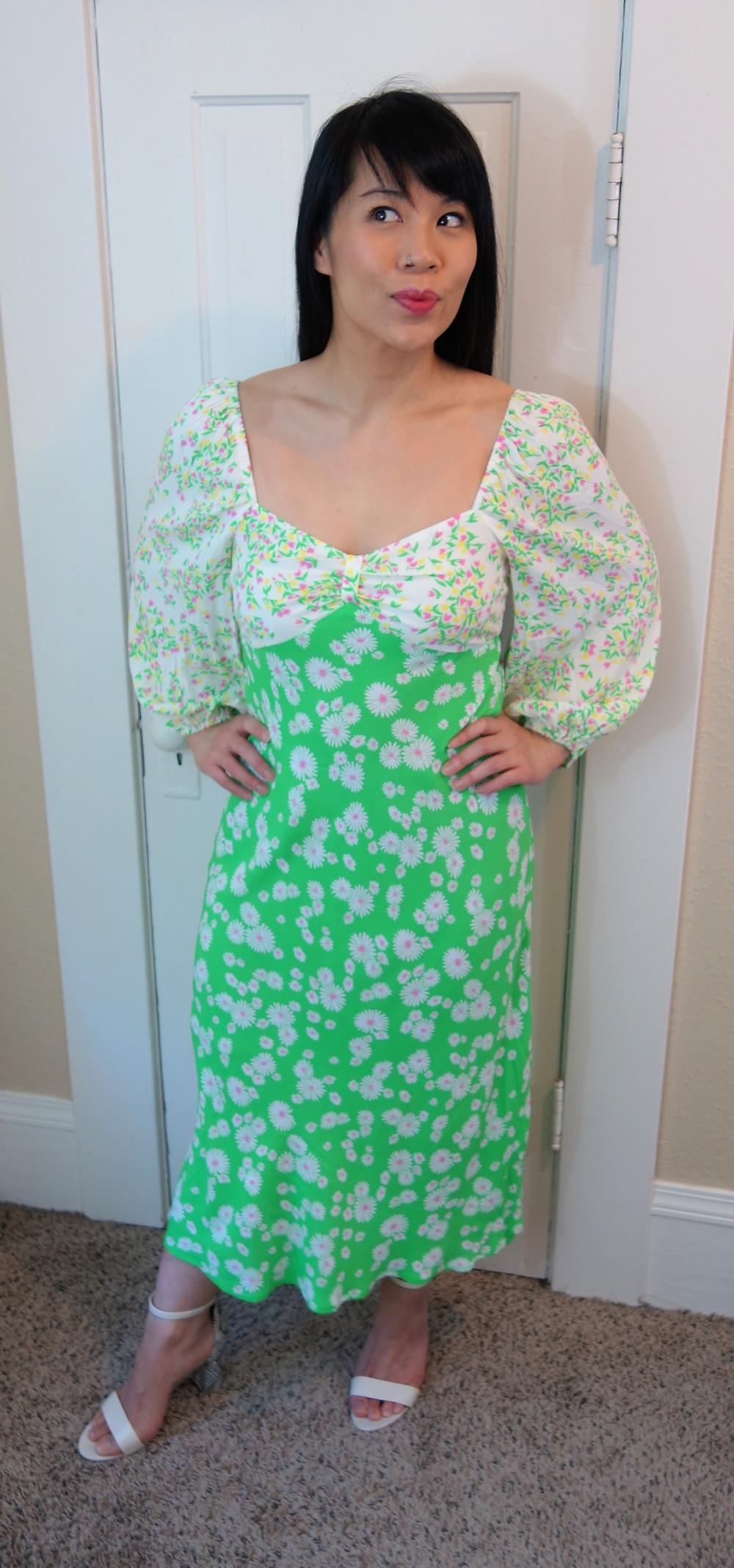 Floral Midi Dress - Kat Depner