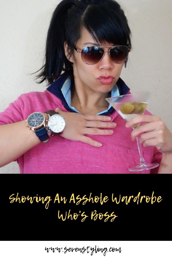 Showing An Asshole Wardrobe Who's Boss