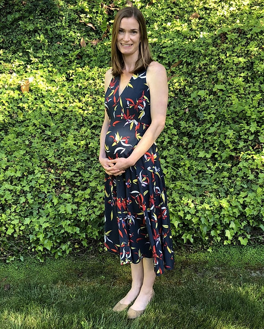 Melinda Crubaugh wearing a dress and looking fabulous