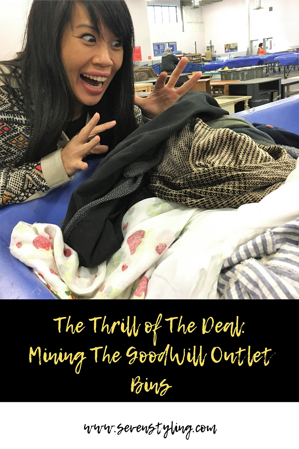 The Thrill of The Deal: Mining The Goodwill Outlet Bins